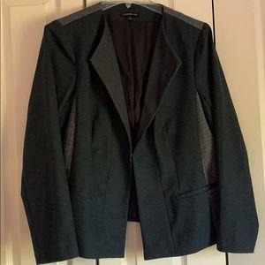 Lane Bryant Size 18 Navy Quilted Blazer